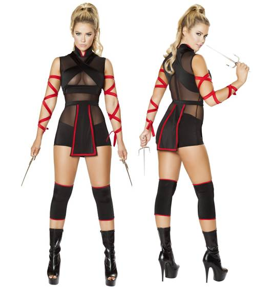 Sexy ninja costumes for women