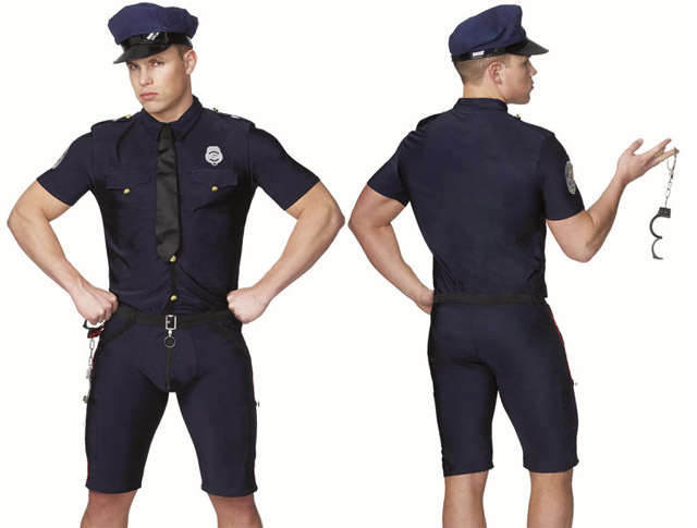 Sexy cop costumes for men