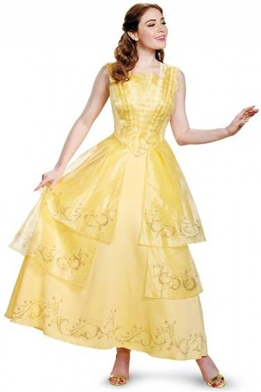 BEAUTY BELLE BALL GOWN PRESTIGE COSTUME FOR WOMEN Click for larger image e0143b5fd