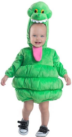 ghostbusters slimer costume for infants newborns click for larger image