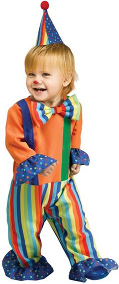LIu0027L CLOWN COSTUME FOR TODDLERS  sc 1 st  Crazy For Costumes/La Casa De Los Trucos (305) 858-5029 - Miami ... & Crazy For Costumes/La Casa De Los Trucos (305) 858-5029 - Miami ...