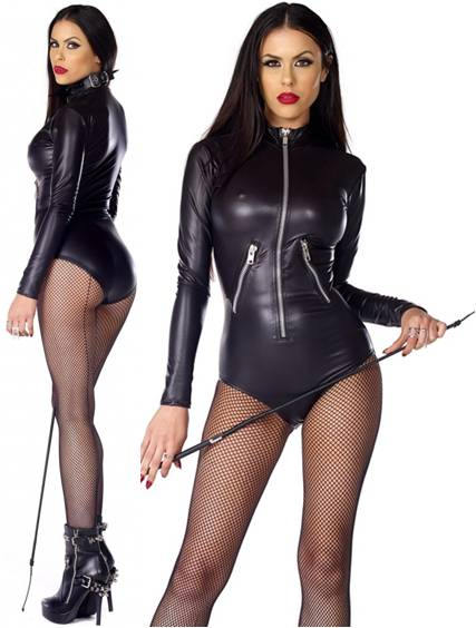 Sexy dominatrix outfit