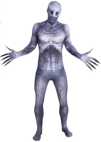 Skeleton 2nd Skin Morph Suit Size XLarge