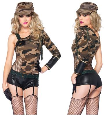 CAMO DOLL  sc 1 st  Crazy For Costumes & All u003e Women u003e Sexy u003e Military u0026 Officers - Crazy For Costumes/La ...