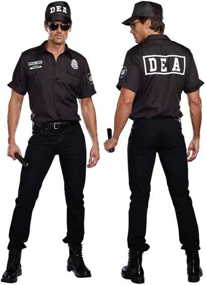 SEXY DEA AGENT COSTUME FOR MEN Click for larger image  sc 1 st  Crazy For Costumes & Crazy For Costumes/La Casa De Los Trucos (305) 858-5029 - Miami ...