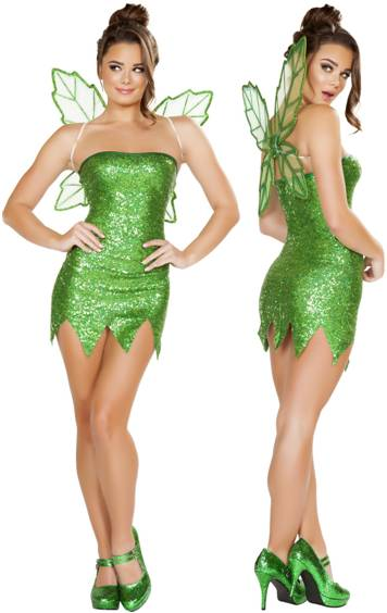 SEXY MISCHIEVOUS FAIRY COSTUME FOR WOMEN Click For Larger Image