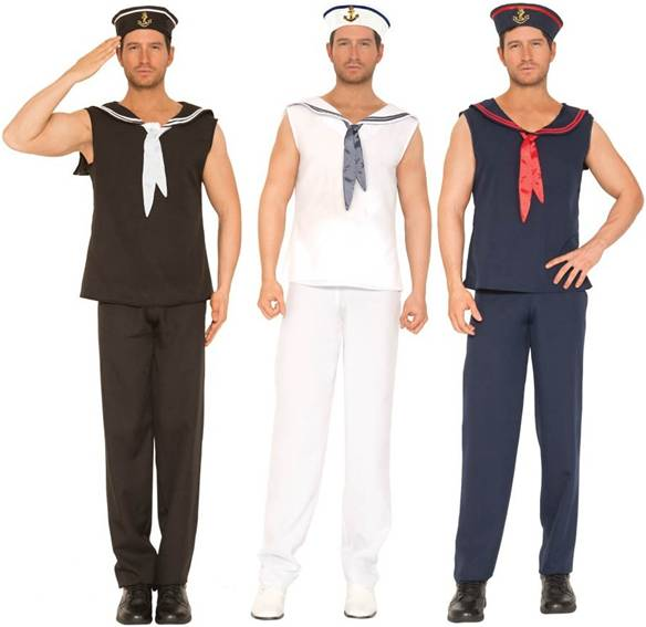 Mens sexy sailor costume
